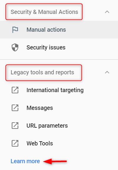 GSC security and legacy tools